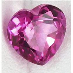 Natural Hot Pink Heart Topaz 17.25 Carats - VVS