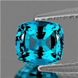 NATURAL ELECTRIC BLUE ZIRCON [FLAWLESS-VVS]