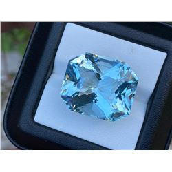 Natural Aquamarine 41.46 Carats - Untreated