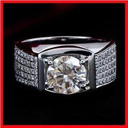 Dazzling 3 Ct Centerstone Lab Diamond Ring