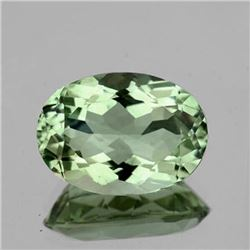 Natural Green Tea Color  Amethyst 13x9 MM - FL