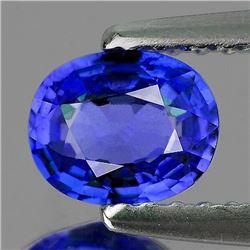Natural Kashmir Blue Sapphire 6x5 MM[VVS]