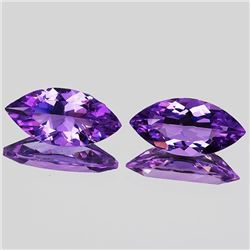 NATURAL PINKISH PURPLE AMETHYST 12x6 MM - FL