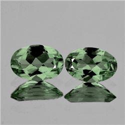 Natural Green Tourmaline Pair [VVS]