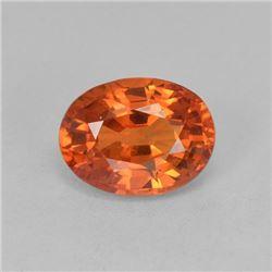 Natural Ceylone Orange Sapphire 5x4 MM