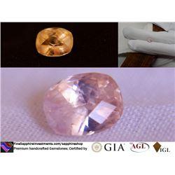 Padparadscha Sapphire, unheated, premium GIA 1.31 ct