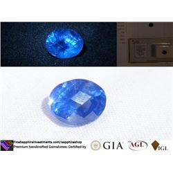 Vivid Cornflower Blue Ceylon Sapphire | GIA 2.49 ct