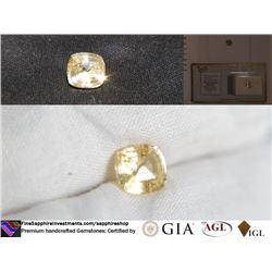 Yellow Sapphire, unheated, premium cut | AGL 1.89 ct