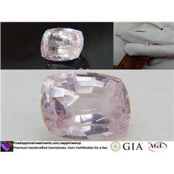 Vivid pastel Pink/Violet fine handcrafted Sapphire 2.39