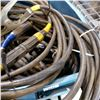 Image 3 : TOTE OF HEAVY DUTY WELDING CABLES