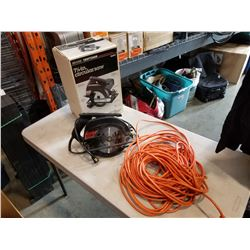 SEARS CRAFTSMAN 7-1/4 CIRCULAR SAW AND EXTENSION CORD