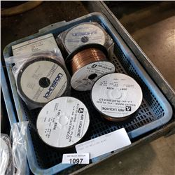 TRAY OF WELDING WIRE