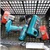 Image 2 : MAKITA CORDLESS SKILLSAW, DRILL, 2 BATTERIES AND CHARGER