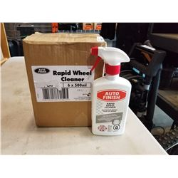 BOX OF AUTO FINISH RAPID WHEEL CLEANER