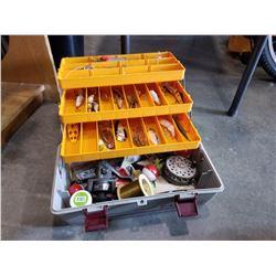 EAGLE II TACKLE BOX W/ CONTENTS
