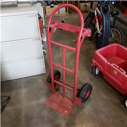 RED 4 WHEEL CONVERTIBLE DOLLY