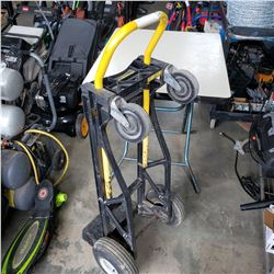 BLACK AND YELLOW CONVERTABLE DOLLY