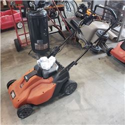 30V CORDLESS BLACK AND DECKER LAWN MOWER ELECTRIC
