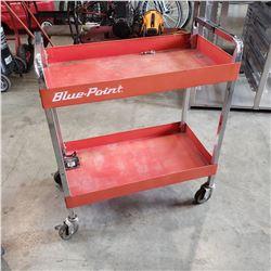 2 TIER BLUE POINT SHOP CART