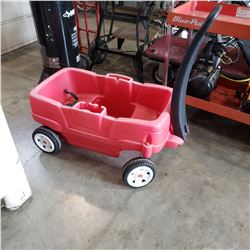 RED STEP 2 WAGON