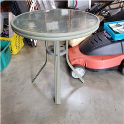 ROUND METAL BASE PATIO TABLE