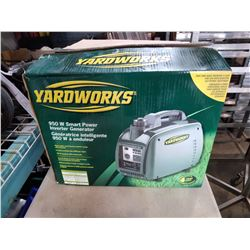 NEW IN BOX YARDWORKS 950 WATT SMART POWER INVERTER GENERATOR