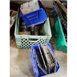 LOT OF INDUSTRAIL VALVES AND METAL SHIMS