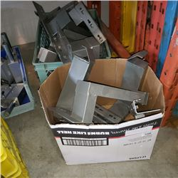 CRATE AND BOX OF PALLET RACKING ATTACHMENT FOR PIPES