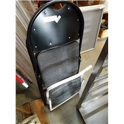 SINGLE STEP AND FOLDING CHAIR