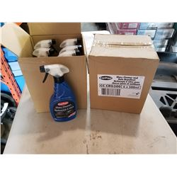 2 BOXES OF NEW CAR PLAN GLASS CLEANER AND RAIN REPELLENT
