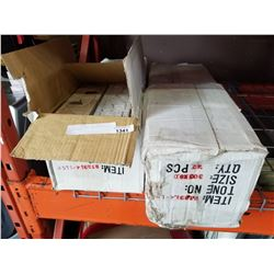 4 BOXES OF NEW ITALIAN STYLE PORCELAIN
