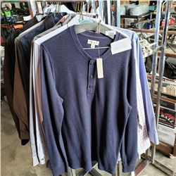 CALVIN KLEIN AND LA CHATEAU DRESS SHIRTS SIZE 15-16 AND 5 DRESS SHIRTS