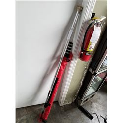 HEIGHT MEASURING STICK AND LOAD BAR