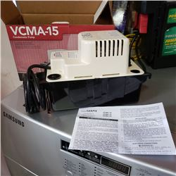 LITTLE GIANT CONDENSATE PUMP VCMA-15 - NEW IN BOX