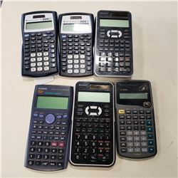 CALCULATORS AND PHONE