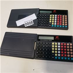 2 HONDA CONVERSION CALCULATORS