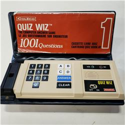 RETRO COLECO QUIZ WIZ WORKING CONDITION