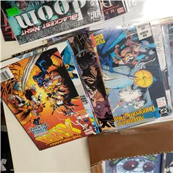 BOX OF COLLECTOR COMICS