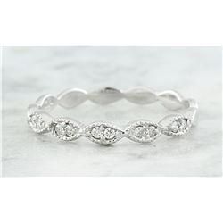 0.15 CTW Diamond 14K White Gold Ring