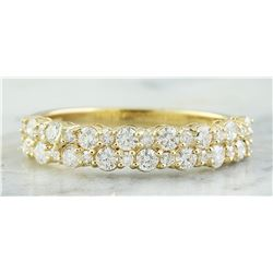 0.75 CTW 14K Yellow Gold Diamond Ring