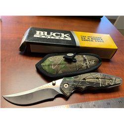 Buck Knives Folding Kalinga Pocket Knife - Model: 0415CMS-B