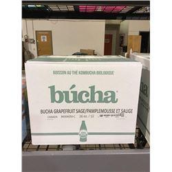 Case ofBuchaGrapefruitKombucha (12 x 473mL)