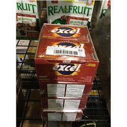 Excel Gum Cinnamon Pack Lot of 4