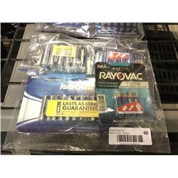 RayovacAA and AAA Batteries
