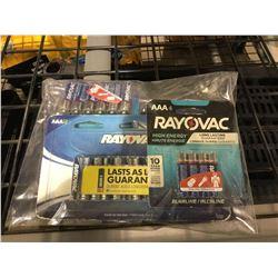 Rayovac AA and AAA Batteries
