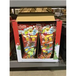 Case of EfruttiHoliday Gummy Candy Stockings (24 x 147g)