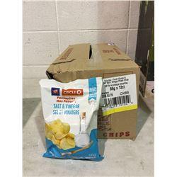 Case of Circle K Salt and Vinegar Chips (12 x 66g)