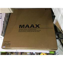 """MaaxFiberglass Shower and Bathtub Wall Set (60"""" x 30"""" x 60"""")"""