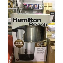 Hamilton Beach 45 Cup Capacity Coffee Urn