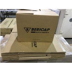 BERICAP premium 2 cu ft STANDARD SIZE moving box LOT OF 10